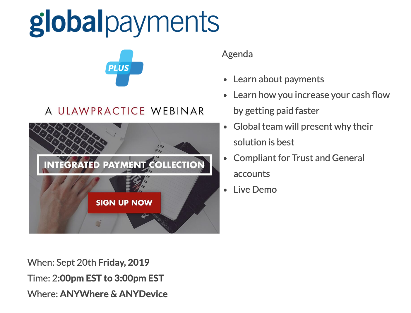 Global Payments webinar link click to sign up